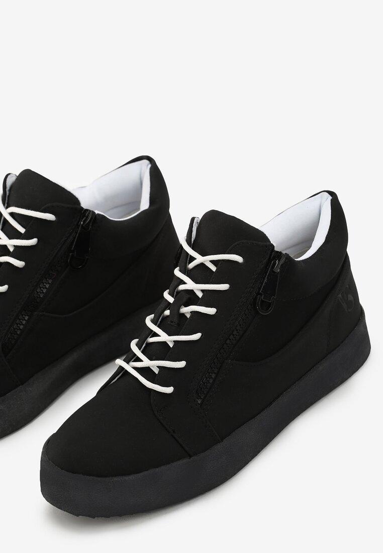 Czarne Buty Sportowe Let It Go
