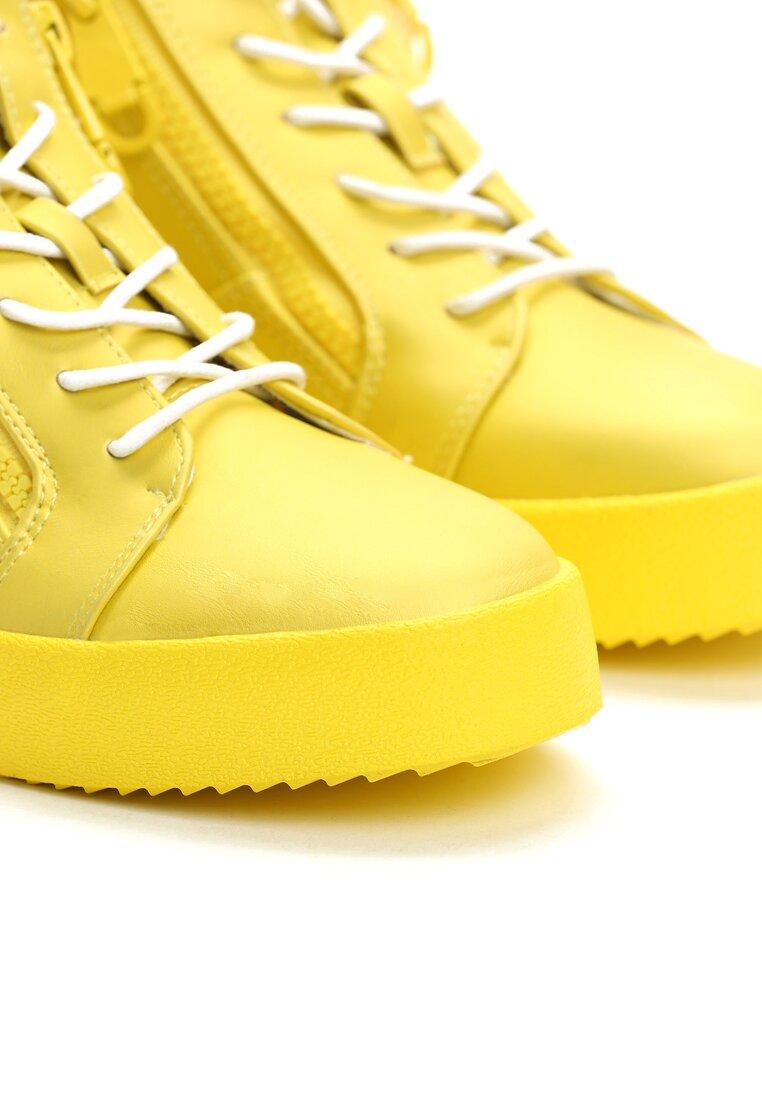 Żółte Sneakersy Let It Go