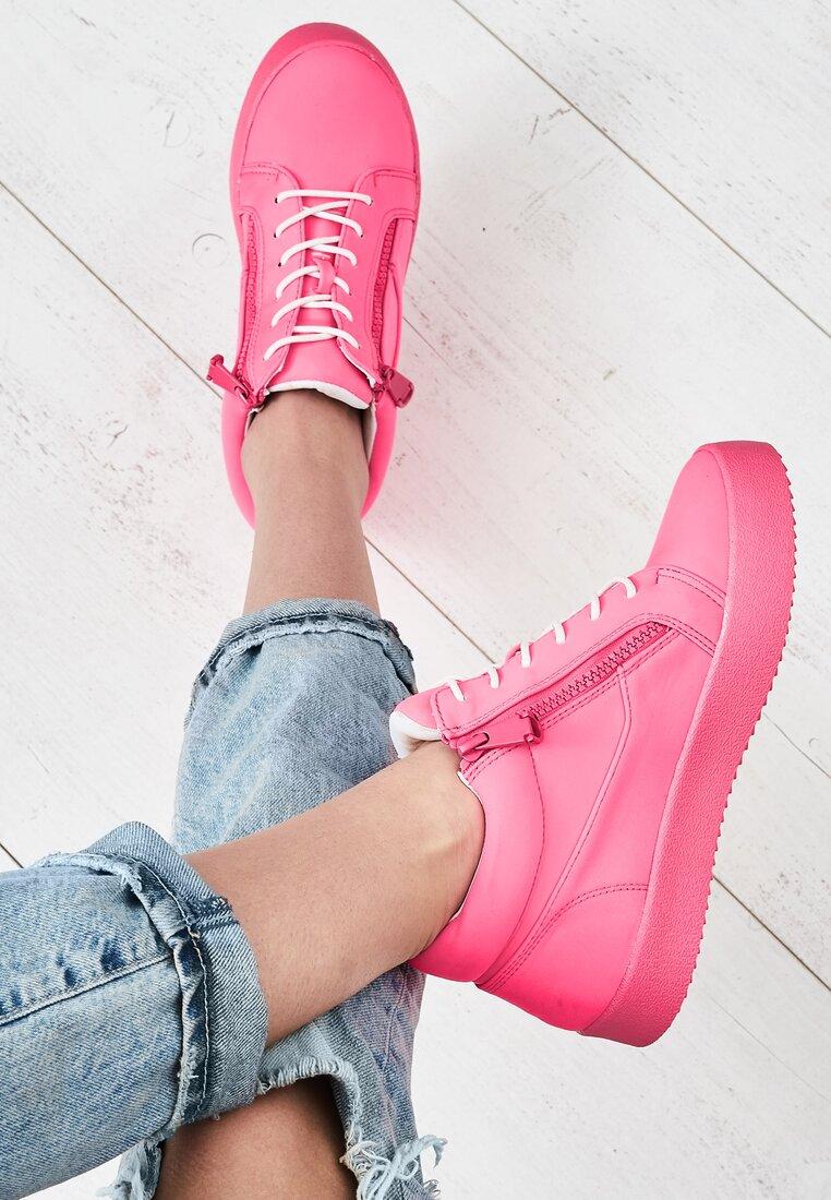 Fuksjowe Sneakersy Let It Go