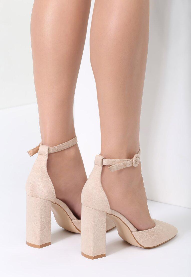 Beżowe Sandały Gimme Love