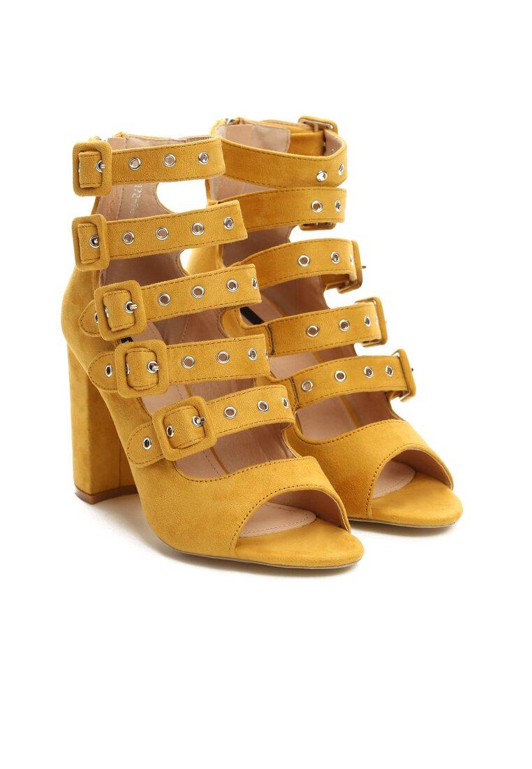 Żółte Sandały Handyman