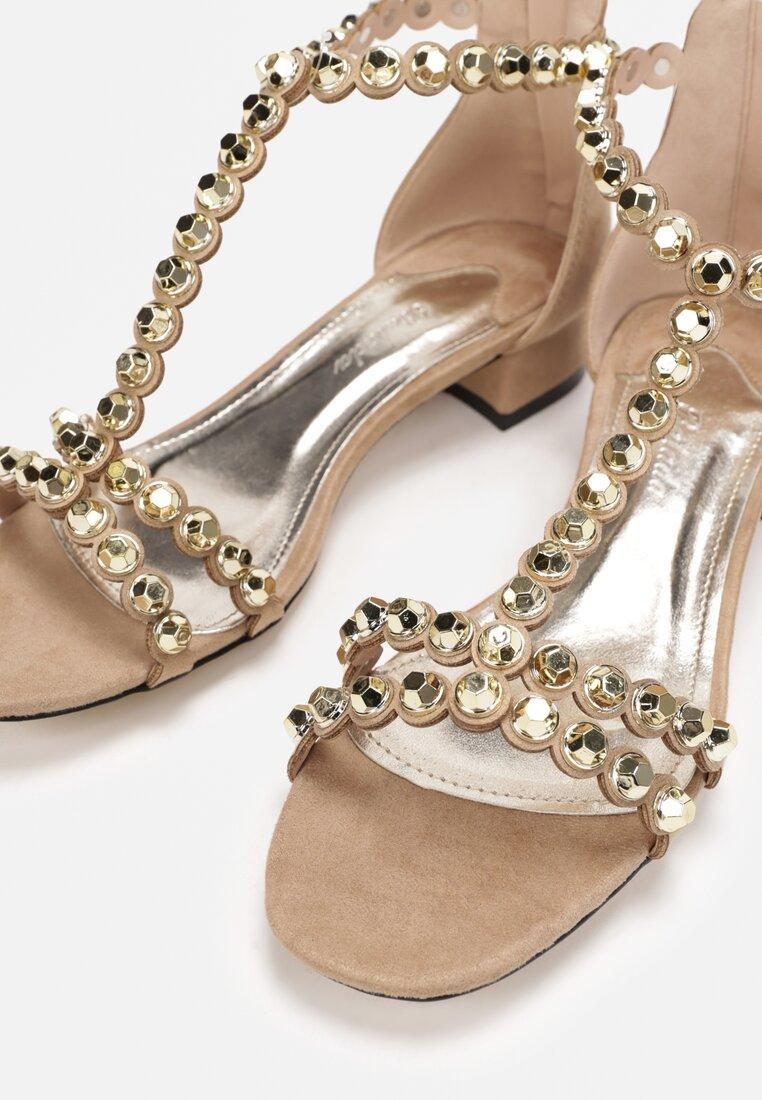 Beżowe Sandały Incorruptible