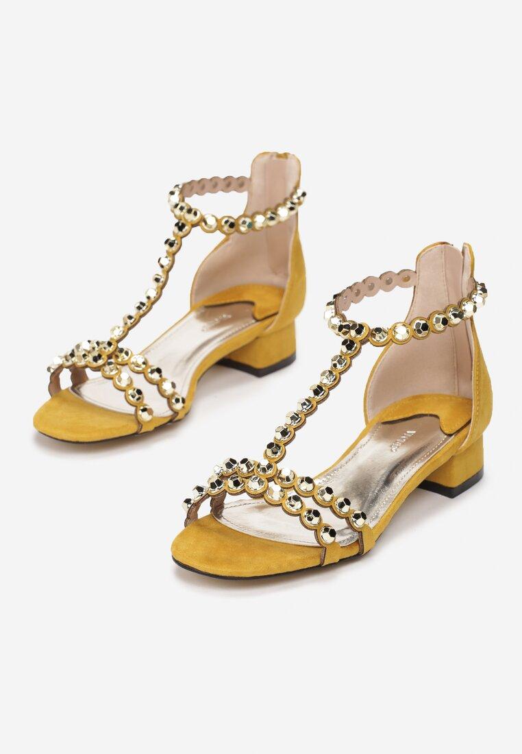 Żółte Sandały Incorruptible