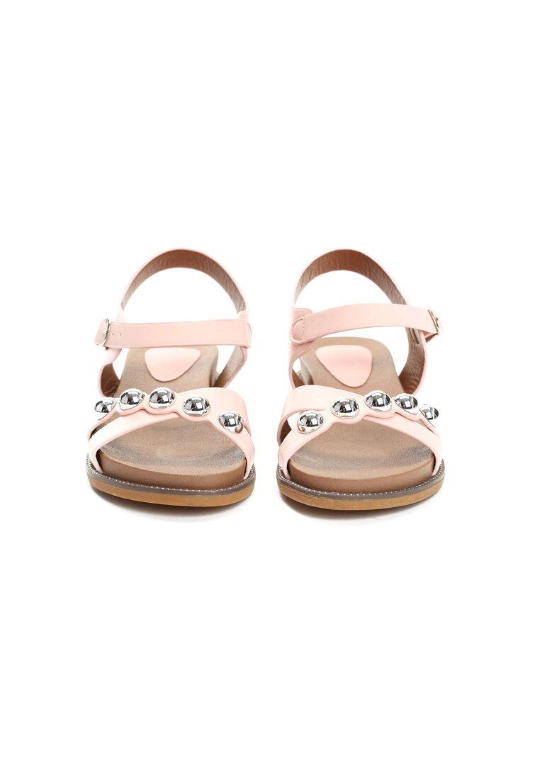 Różowe Sandały Float On
