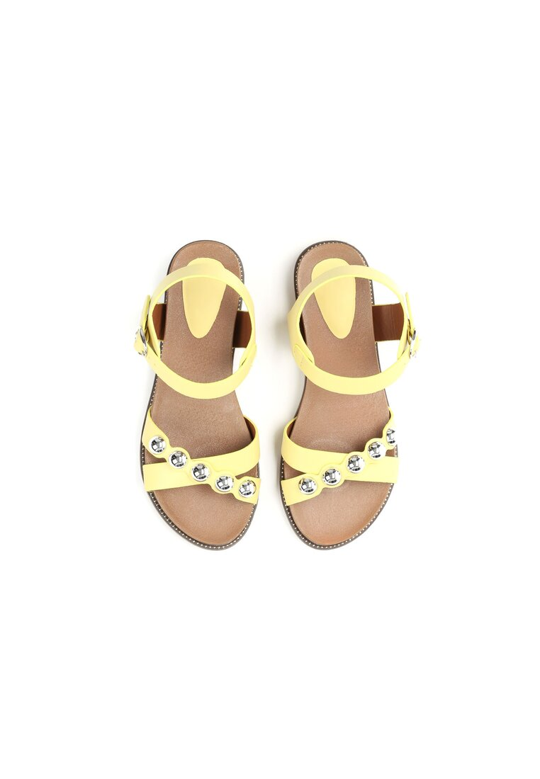 Żółte Sandały Float On