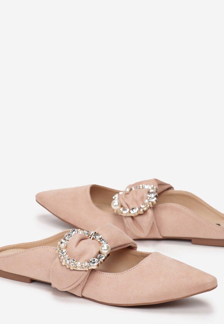 Różowe Klapki Jasmine