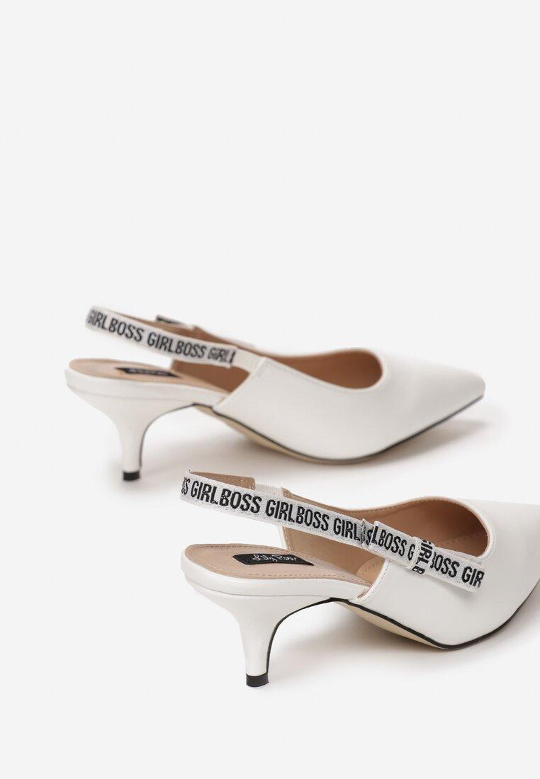 Białe Sandały Electric Feel
