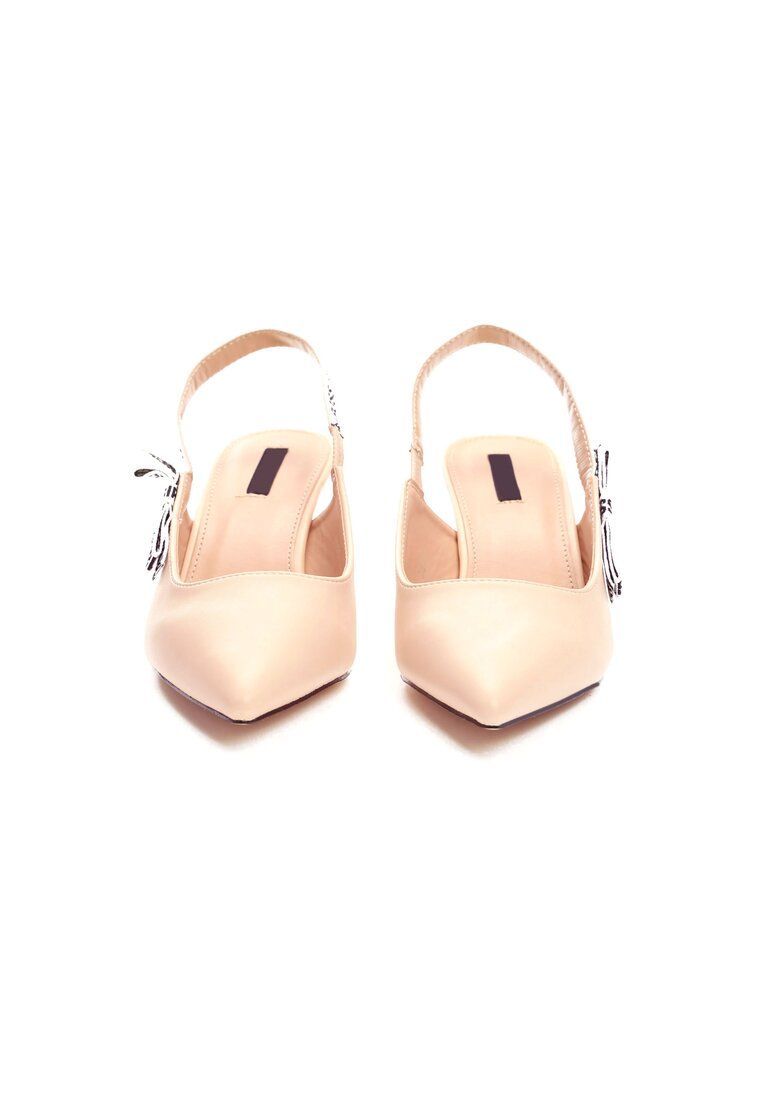 Beżowe Sandały Electric Feel