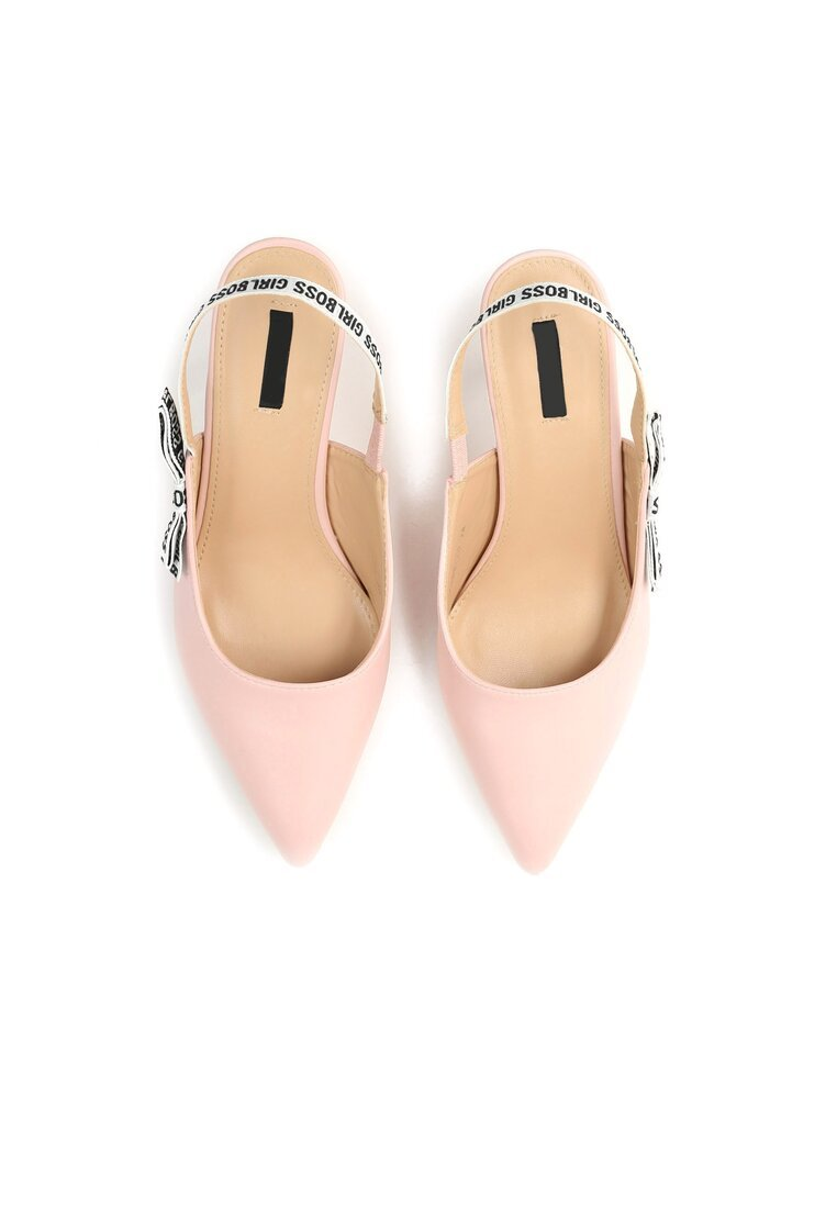 Różowe Sandały Electric Feel