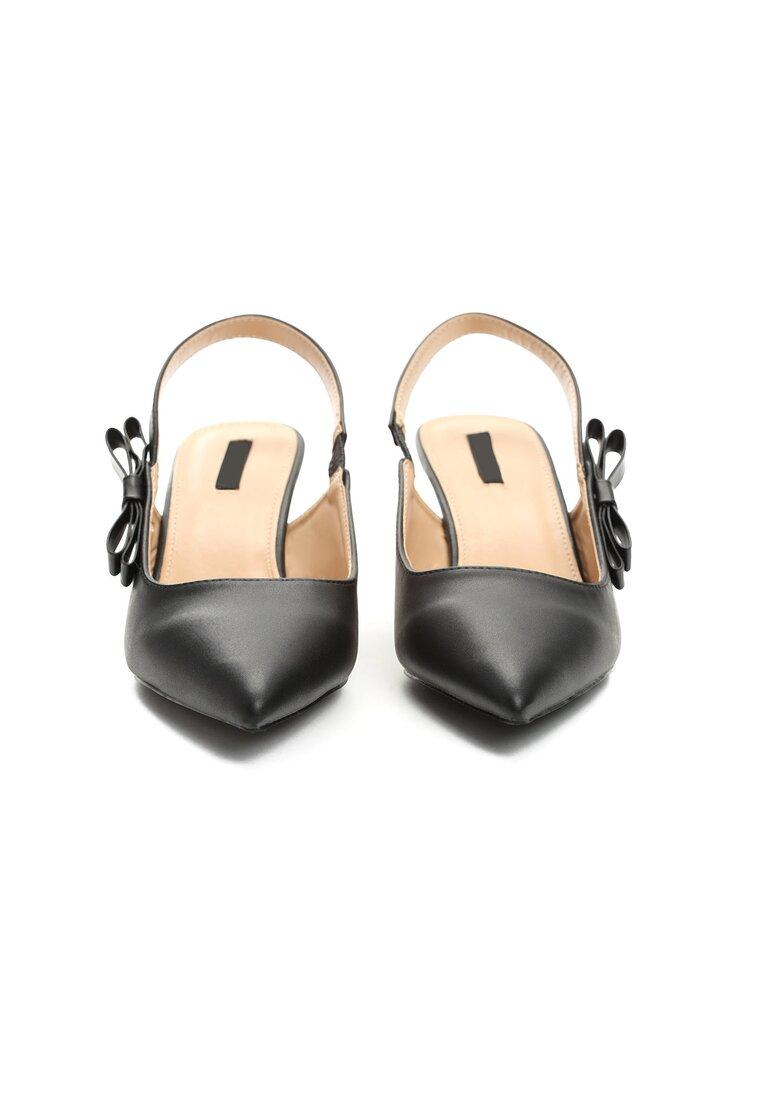 Czarne Sandały For My Girls