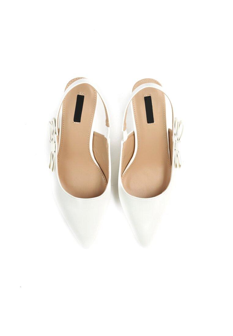 Białe Sandały For My Girls