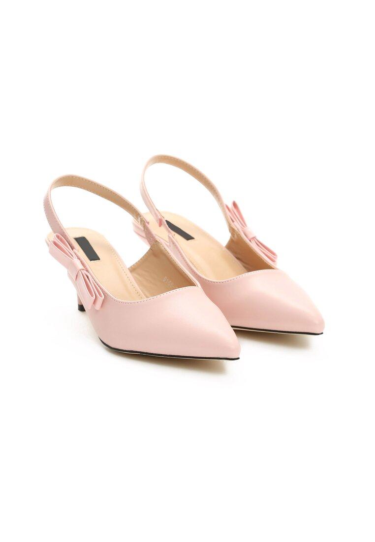 Różowe Sandały For My Girls