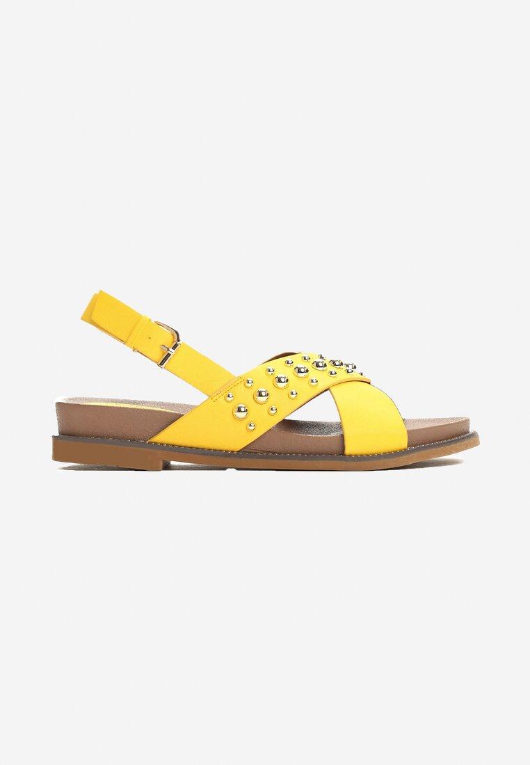 Żółte Sandały Spirits