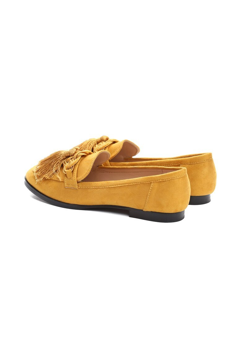 Żółte Mokasyny Ophelia