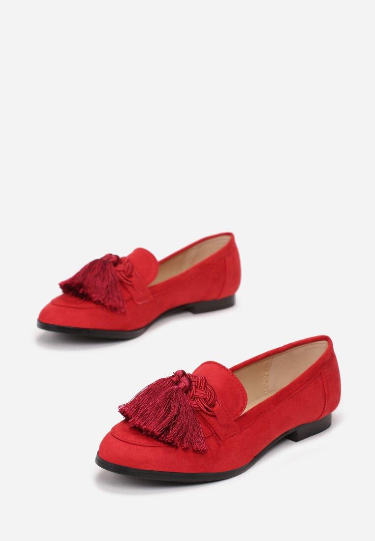 Czerwone Mokasyny Ophelia