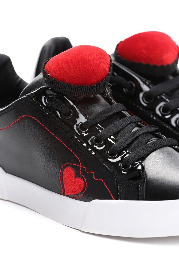 Czarne Buty Sportowe Victim Of Love
