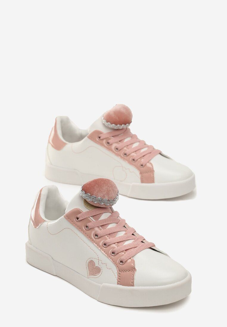 Białe Buty Sportowe Victim Of Love