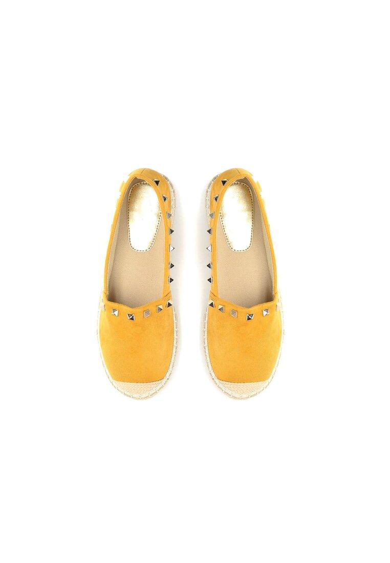 Żółte Espadryle We're in Love