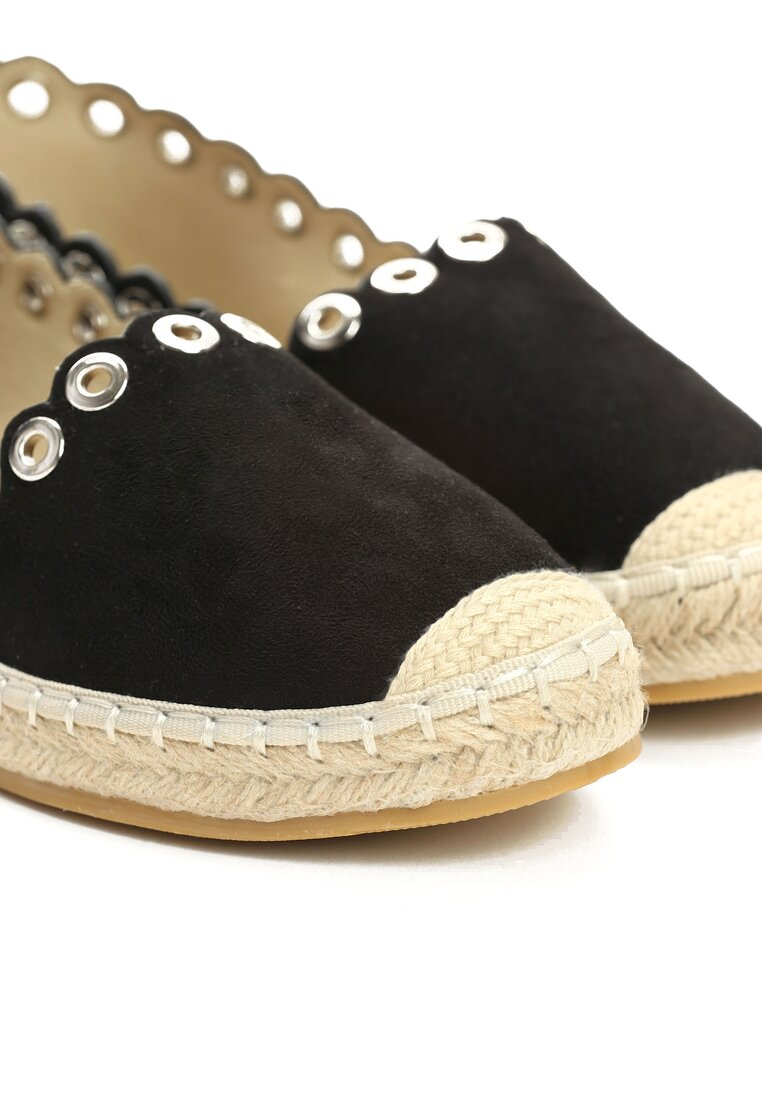 Czarne Espadryle This Is Love