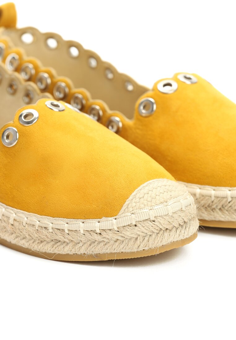 Żółte Espadryle This Is Love