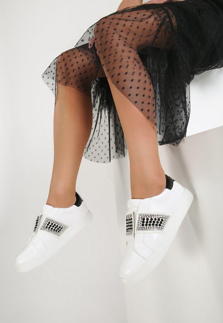 Białe Buty Sportowe Move Around