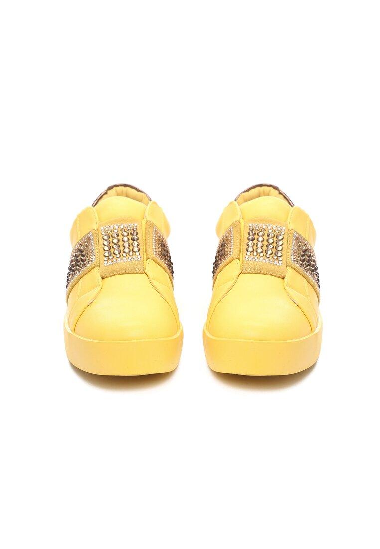 Żółte Buty Sportowe Move Around