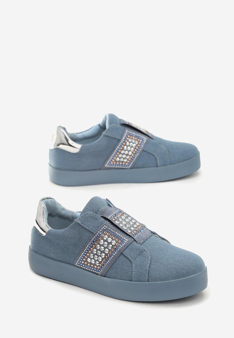 Niebieskie Buty Sportowe Move Around