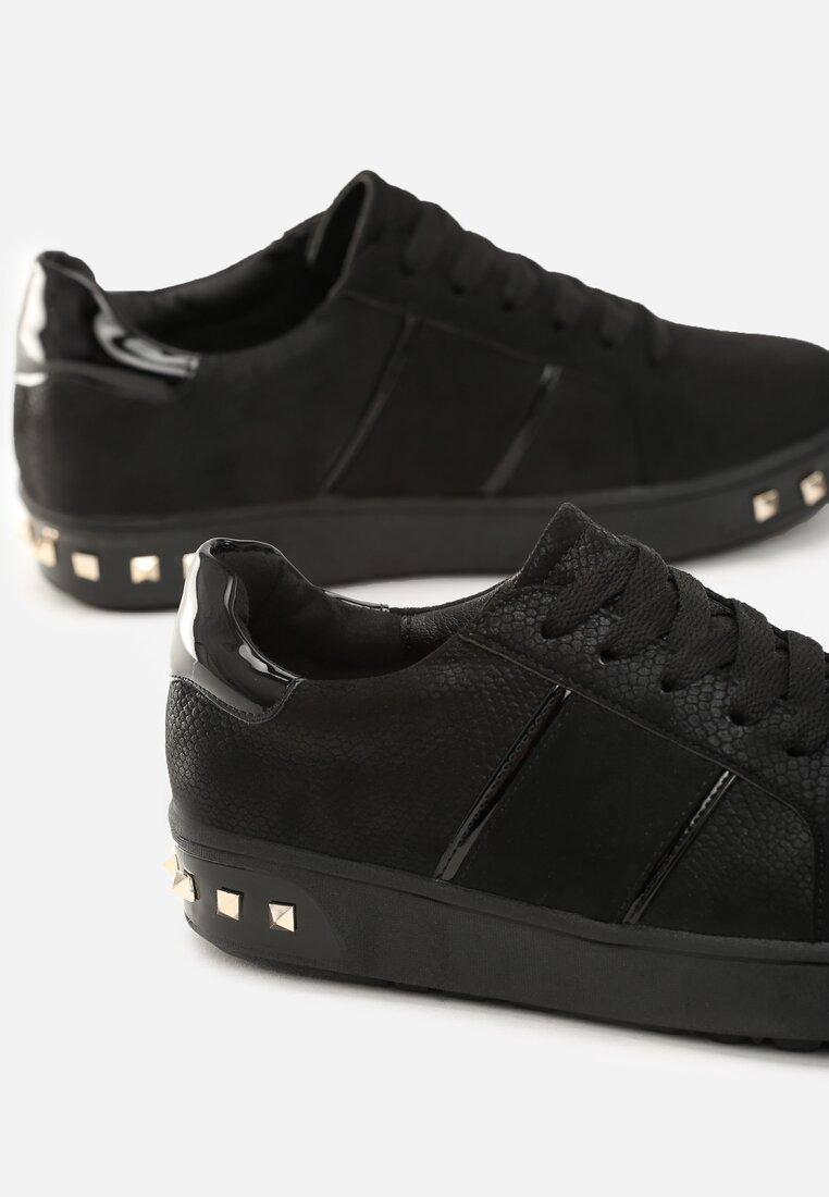 Czarne Buty Sportowe Capricorn