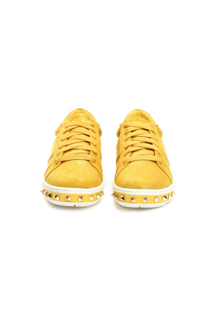 Żółte Buty Sportowe Capricorn