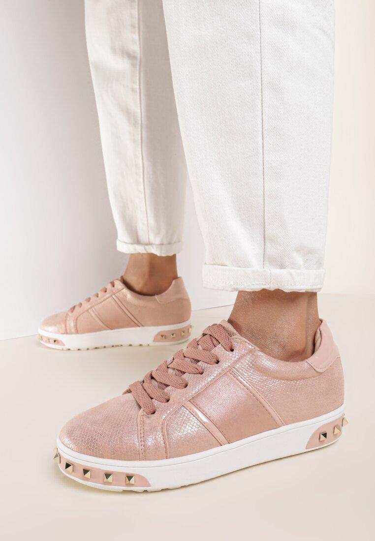 Różowe Buty Sportowe Capricorn