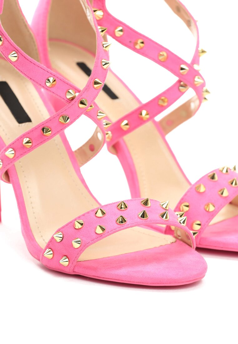 Różowe Sandały My Sins