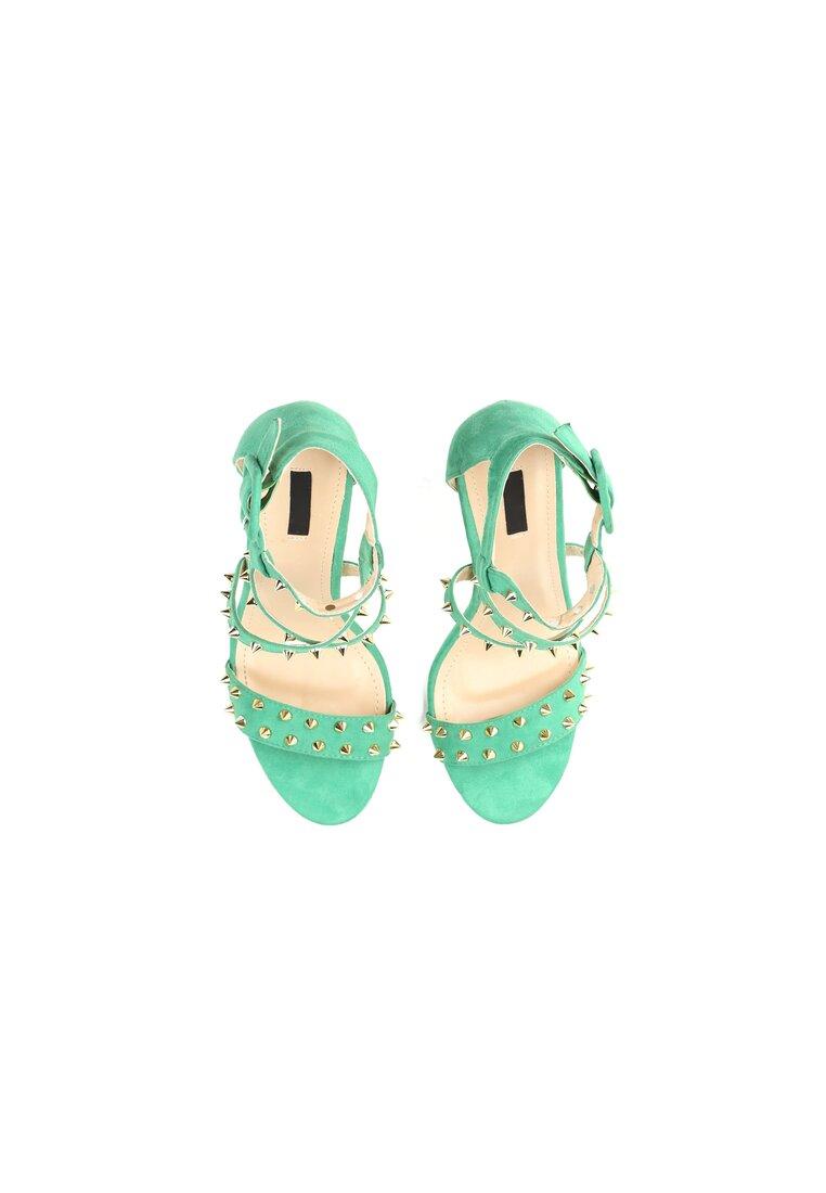 Zielone Sandały My Sins
