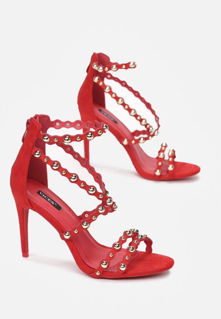 Czerwone Sandały Always Be Beautiful