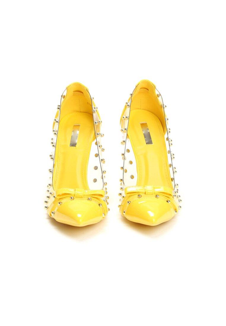Żółte Szpilki Paws