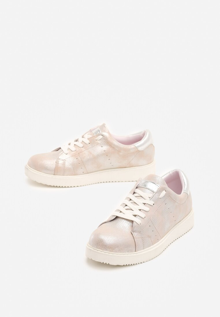 Różowe Buty Sportowe Get In