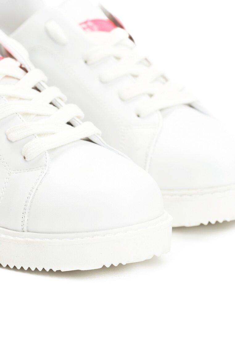 Biało-Fuksjowe Buty Sportowe Missing You