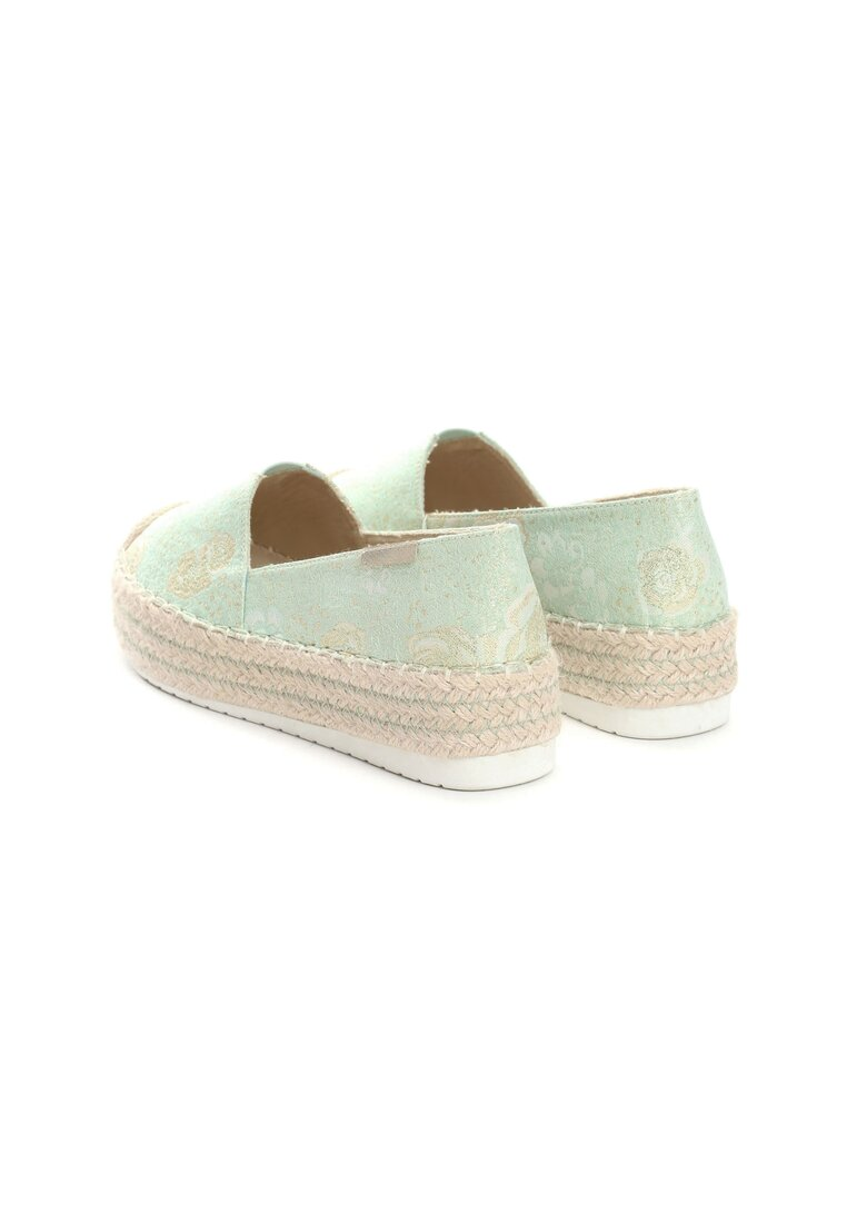 Zielone Espadryle You Will Win