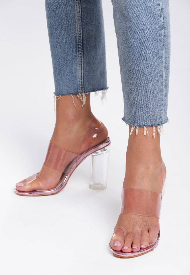Różowe Sandały Watch Over Me