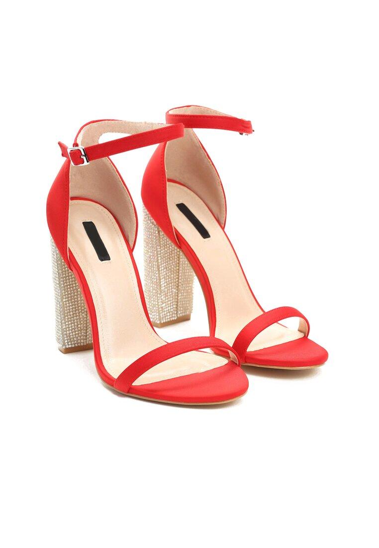 Czerwone Sandały Great Fall