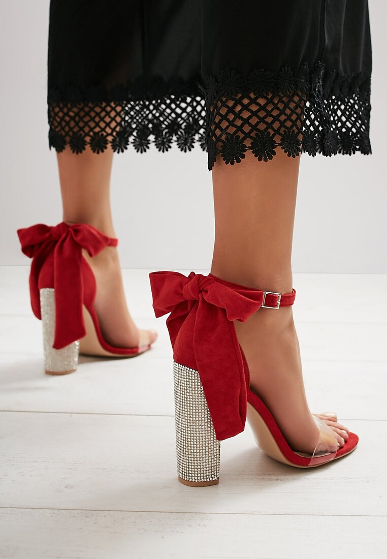 Czerwone Sandały Star Light