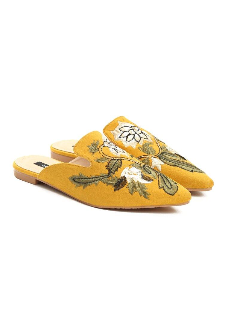 Żółte Klapki Made For You
