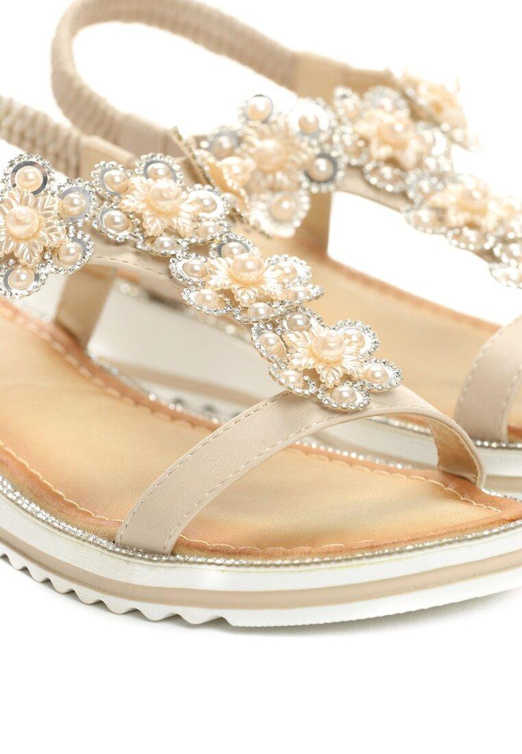 Beżowe Sandały Anticipation