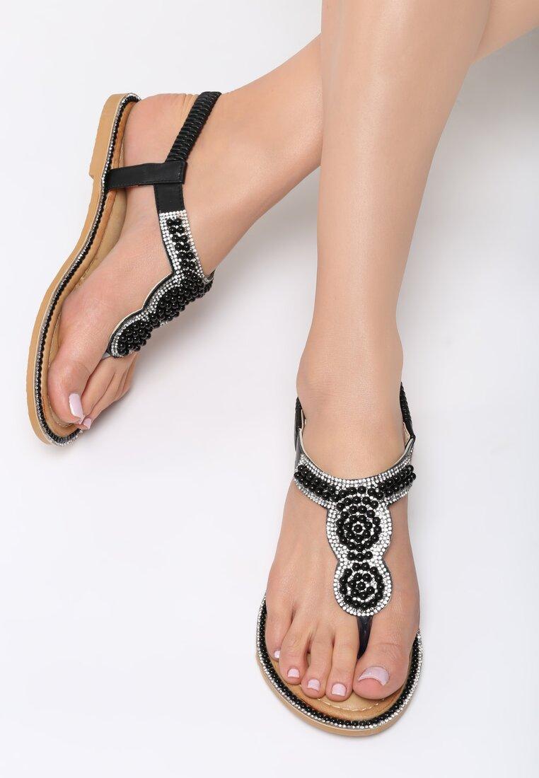 Czarne Sandały To The Claskys