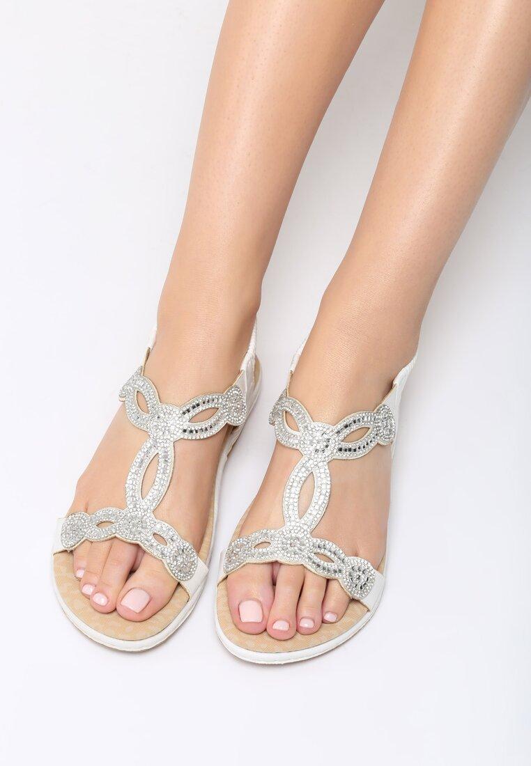 Białe Sandały Absolutely Fabulous