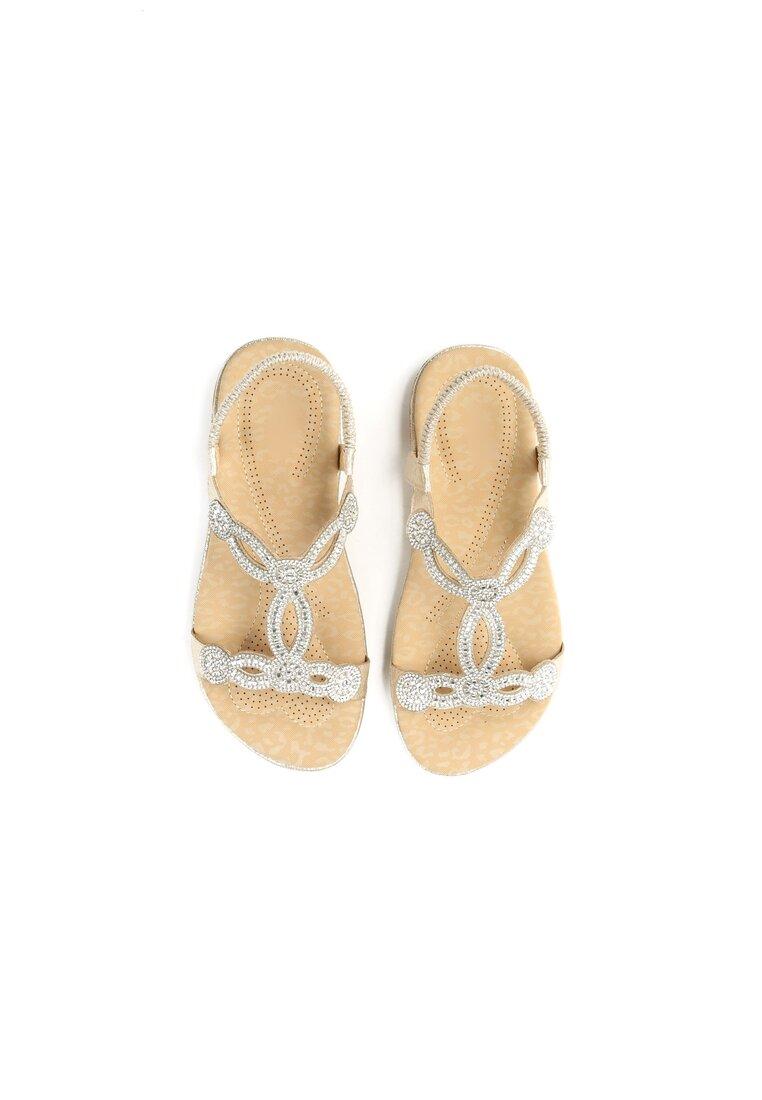 Złote Sandały Absolutely Fabulous