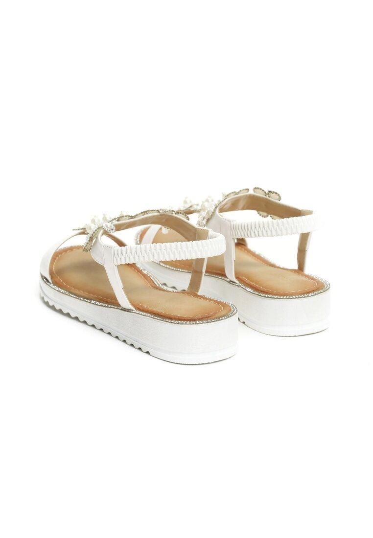 Białe Sandały Anticipation