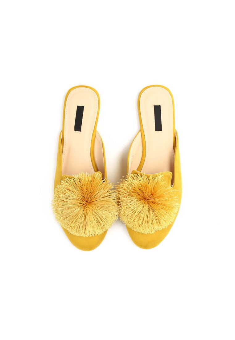 Żółte Klapki Birdsong