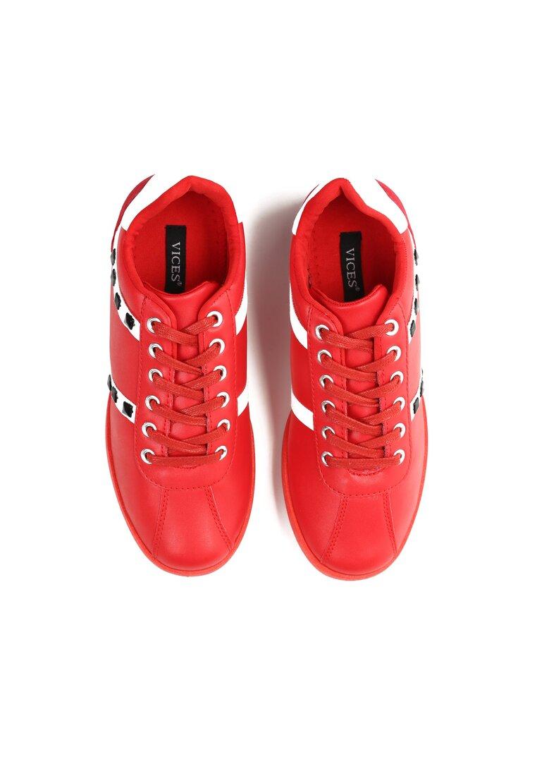 Czerwone Buty Sportowe More Light