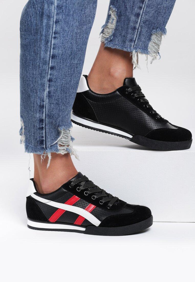 Czarne Buty Sportowe Scintilla