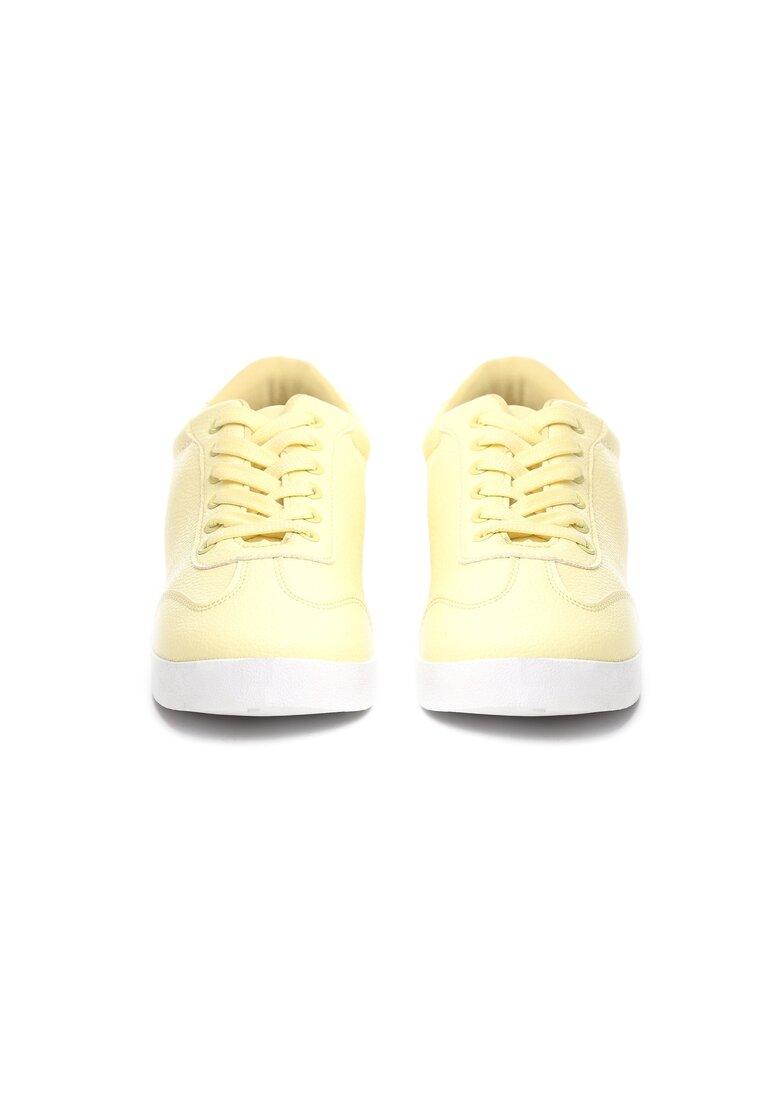 Żółte Buty Sportowe Turning Away